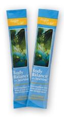 body balance in single serve travel sachets