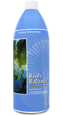 body balance in a liquid formula