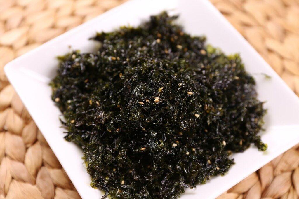 eat seaweed
